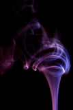 Purple Smoke Abstract Royalty Free Stock Image