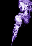Purple smoke Royalty Free Stock Photo
