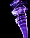 Purple smoke Stock Image
