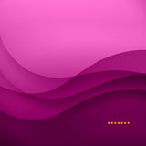 Purple Smooth Twist Light Lines Background. Stock Photography