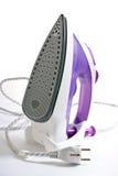 Purple smoothing-iron Royalty Free Stock Image