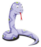 Purple snake Royalty Free Stock Photos