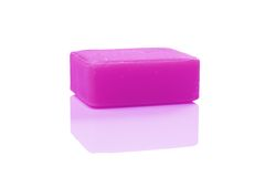 Purple soap Stock Photography