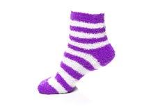 Purple Socks Stock Images
