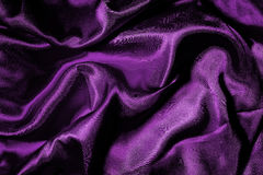 Purple soft satin Royalty Free Stock Images