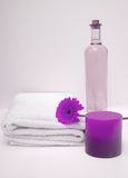 Purple Spa Royalty Free Stock Images
