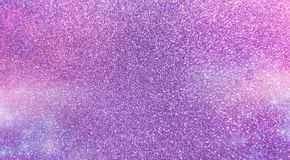 Purple space glitter sparkling background royalty free stock image