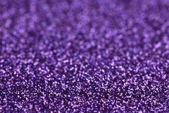 Purple Sparkle Glitter background. Holiday, Christmas, Valentines, Beauty and Nails abstract texture stock photography