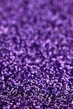 Purple Sparkle Glitter background. Holiday, Christmas, Valentines, Beauty and Nails abstract texture Royalty Free Stock Image