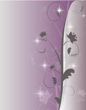 Purple Sparkle Swirl Background Royalty Free Stock Images