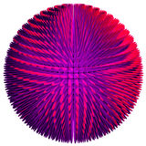 Purple sphere Royalty Free Stock Images