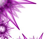 Purple spike ball background Stock Photos