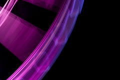 Purple Spin Out Stock Photography