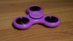 Purple spinner stock video