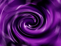Purple Spiral Royalty Free Stock Image