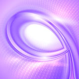 Purple spiral abstract background. Royalty Free Stock Photography