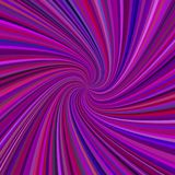 Purple spiral background - vector design from rotating rays in colored tones. Purple spiral background - vector graphic design from rotating rays in colored stock illustration