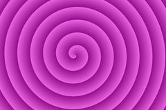 Purple Spiral Stock Photo
