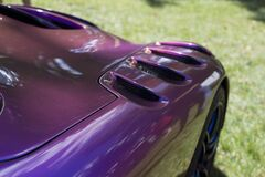 Purple Sport Car during Daytime Stock Images