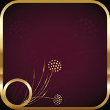 Purple square background Royalty Free Stock Photos