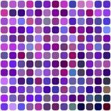 Purple square mosaic vector background design. Purple abstract rounded square mosaic vector background design stock illustration