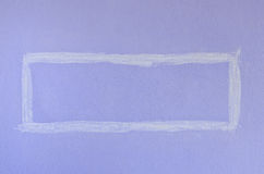 Purple Square Paint Wall Royalty Free Stock Photo