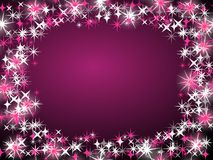 Purple Star Background Stock Images