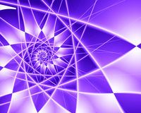 Purple Star Burst Royalty Free Stock Image