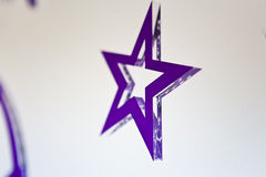 Purple star Royalty Free Stock Images