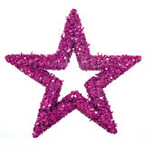 Purple star Royalty Free Stock Photos