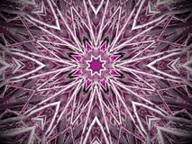 Purple starburst background Royalty Free Stock Photos