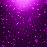 Purple stars background Royalty Free Stock Photography