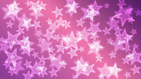 Purple Stars Bokeh Background Wallpaper Stock Photo