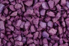 Purple stones Royalty Free Stock Photo