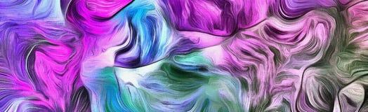 Purple streams Stock Photography