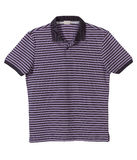 Purple strip t-shirt Royalty Free Stock Photo