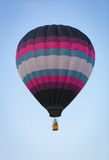 Purple Stripe Hot Air Balloon Royalty Free Stock Images