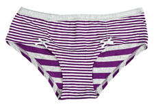 Purple striped pants Stock Photography
