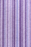 Purple stripey carpet Stock Photos