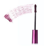 Purple stroke of mascara Royalty Free Stock Photography
