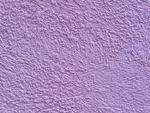 Purple stucco Stock Photography