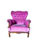 Purple Stylish Chair Stock Photography