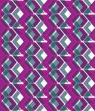 Purple stylized symmetric endless pattern, transparent continuou Royalty Free Stock Photography