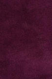Purple suede Stock Photography