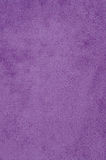 Purple suede Stock Image