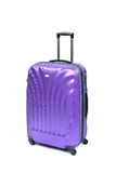 Purple suitcase Royalty Free Stock Photography