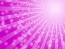 Purple sun bulb background Royalty Free Stock Images