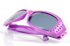 Purple sunglasses Royalty Free Stock Photo