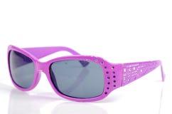 Purple sunglasses Royalty Free Stock Photos