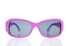 Purple sunglasses Royalty Free Stock Image